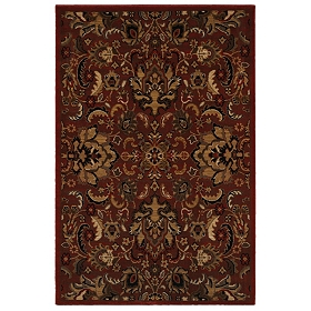 Red Callie Area Rug, 5x7