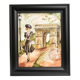Paris in Spring II Framed Art Print
