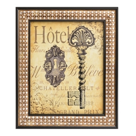 Room Key II Framed Art Print