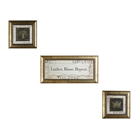 Lather Rinse Repeat Shadowbox, Set of 3