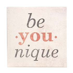 Be You-nique Canvas Art Print