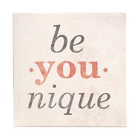 Be You-nique Canvas Art Print