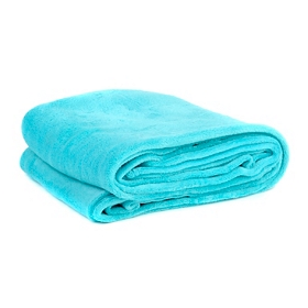 Turquoise Oversized Throw Blanket