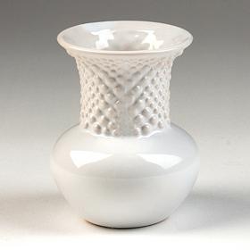 White Ceramic Mini Vase