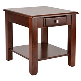 Vintner Merlot End Table