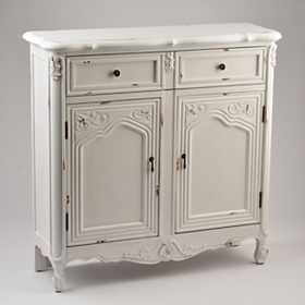 Antique Ivory Sideboard