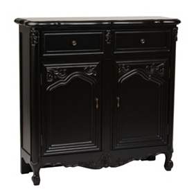 Antique Black Sideboard