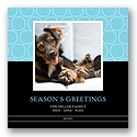 Hugs & Kisses - Sky Photo Holiday Card